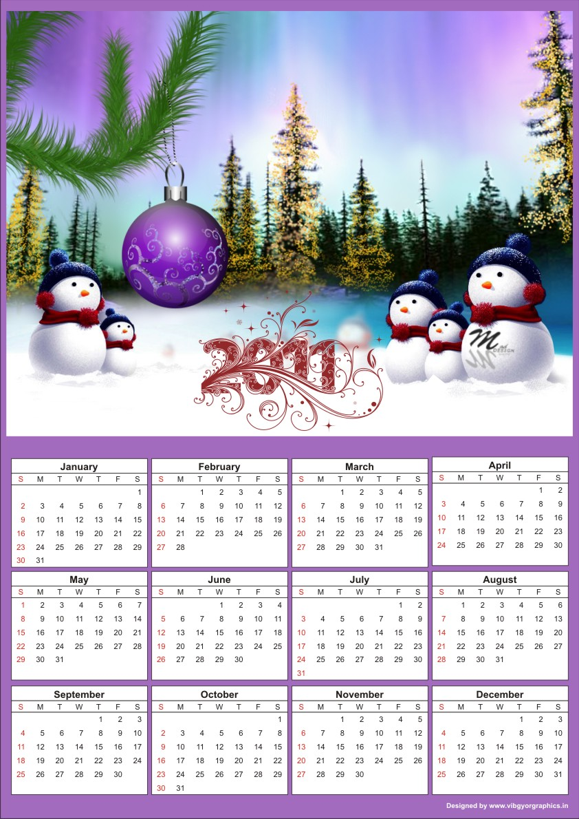 Calendar Design With Photos Free : Free calendar template download calendars